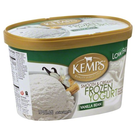 Kemps Vanilla Bean Low Fat Frozen Yogurt, 1.5 qt - Walmart.com