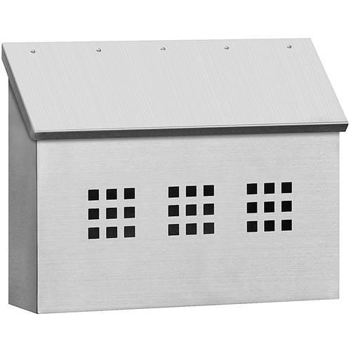 Salsbury Industries Stainless Steel Mailbox, Decorative, Horizontal Style by Salsbury industries