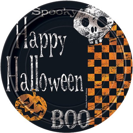 Halloween Party Plates (7