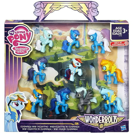 My Little Pony Wonderbolts Cloudsdale Mini Collection Mini Figure