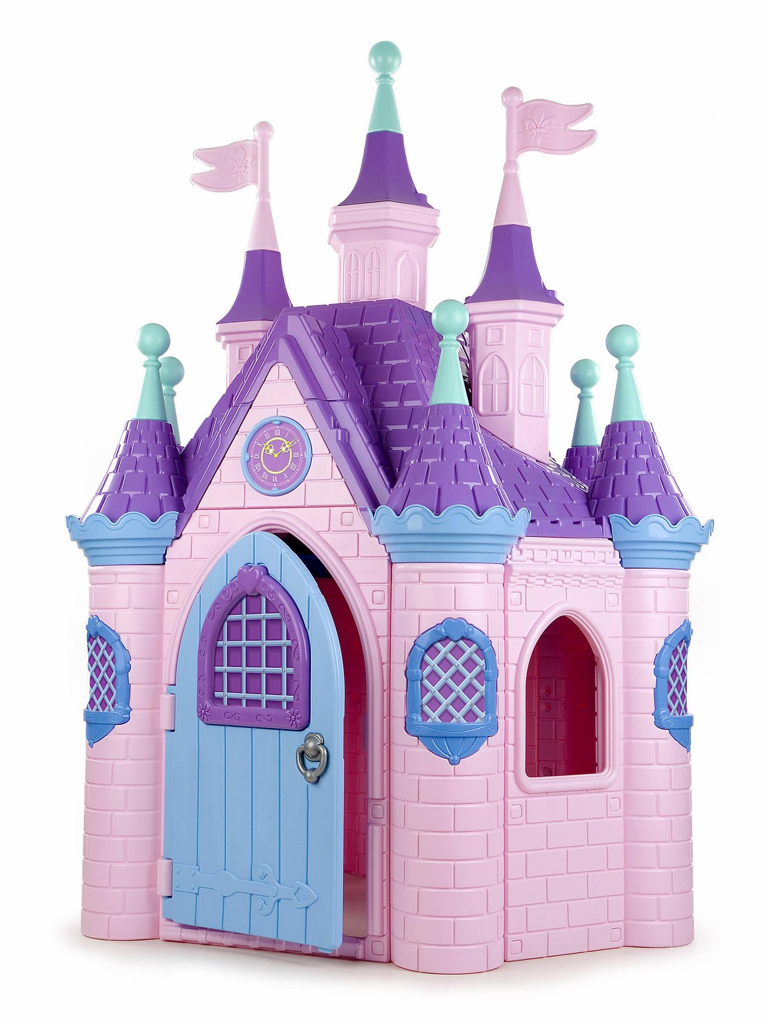 ECR4Kids Jumbo Pink Princess Palace Playhouse