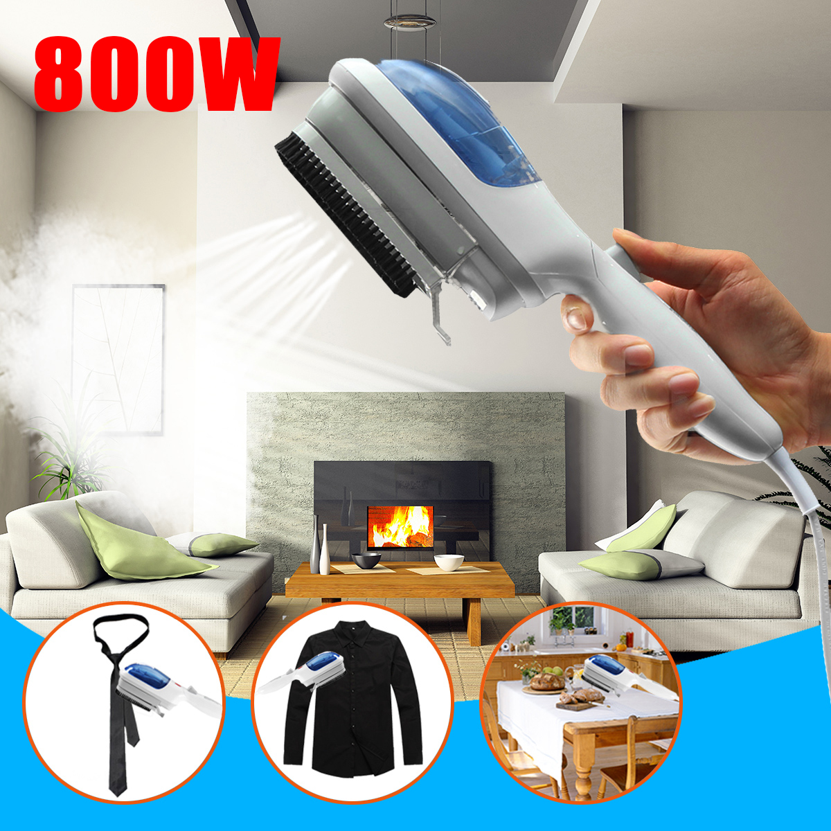 Portable Electric Handheld Brush Steamer Iron Electric steam iron , Home Garment & Fabric &Clothes Handheld Steamer, US 110V