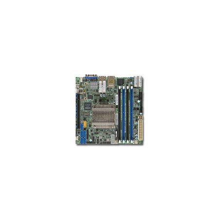 Supermicro X10SDV-4C+-TLN4F Server Motherboard - Intel Chipset - Socket BGA-1667 - Intel Xeon D-1518 Quad-core [4 Core] 2.20 GHz - 1 x Bulk Pack (x10sdv-4c-tln4f-b)