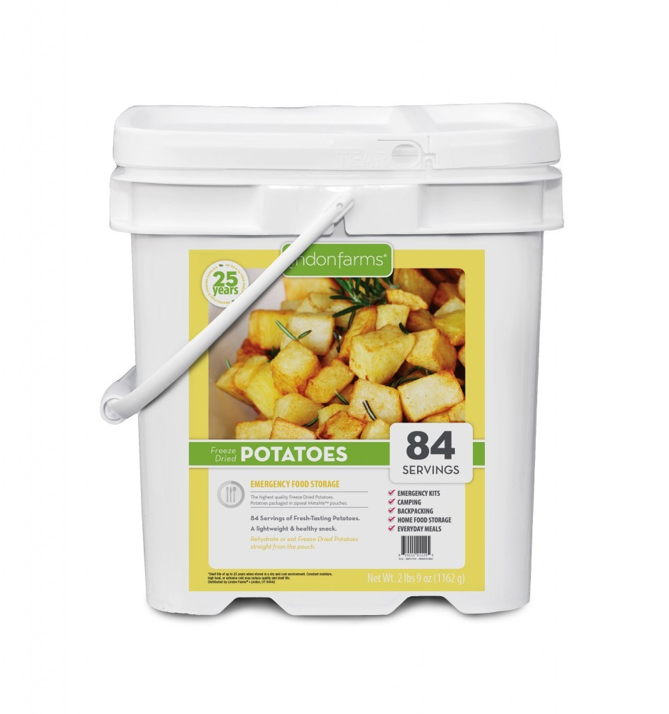 Lindon Farms 84 Servings Freeze Dried Diced Potatoes by Lindon Farms