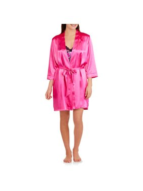e0137406a2 Product Image Women's Satin Chemise and Robe Set ...