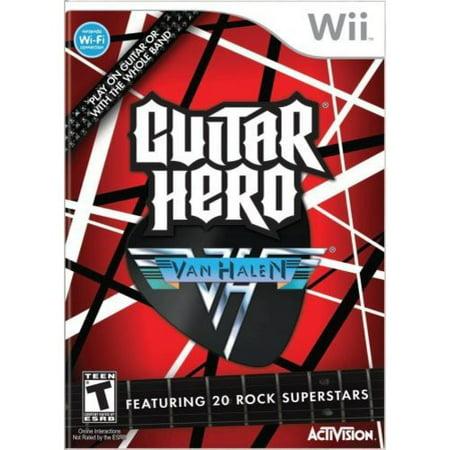 Guitar Hero Van - Guitar Hero: Van Halen WII