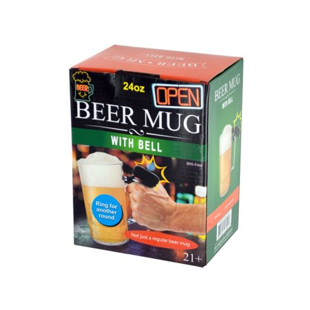 24 oz. Novelty Beer Mug with Bell for $<!---->