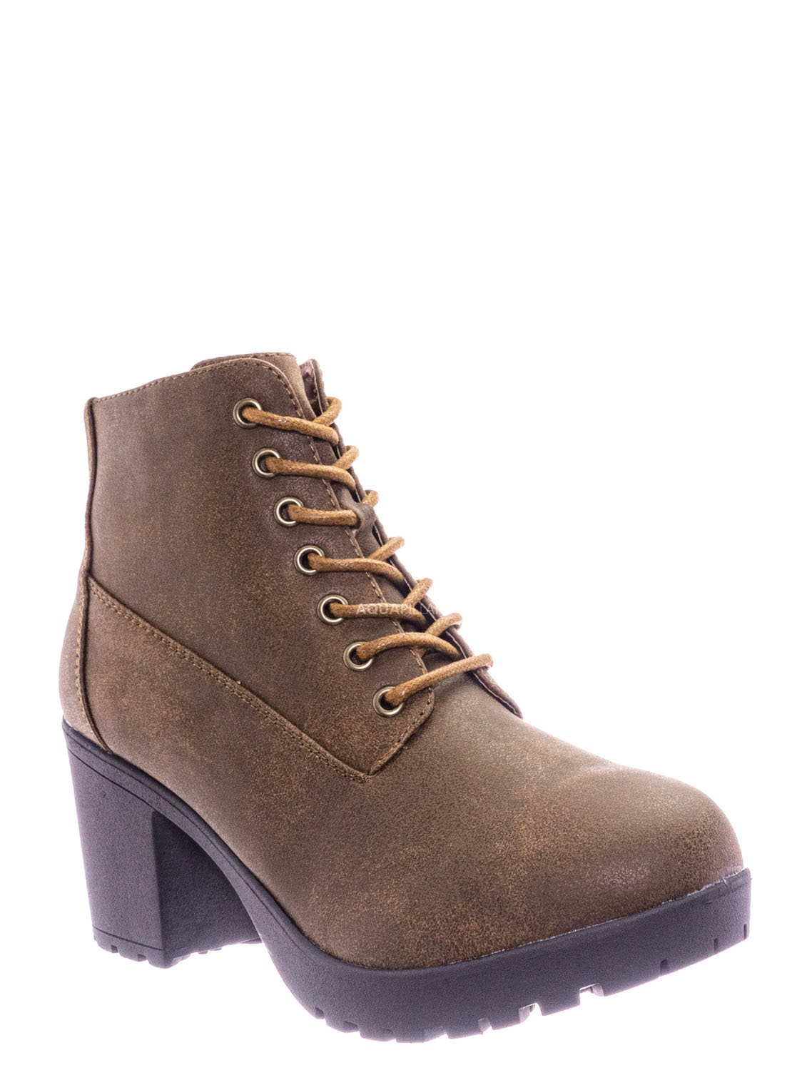Women/'s Round-Toe Wedge Heel Ankle Booties By Forever Paola-90