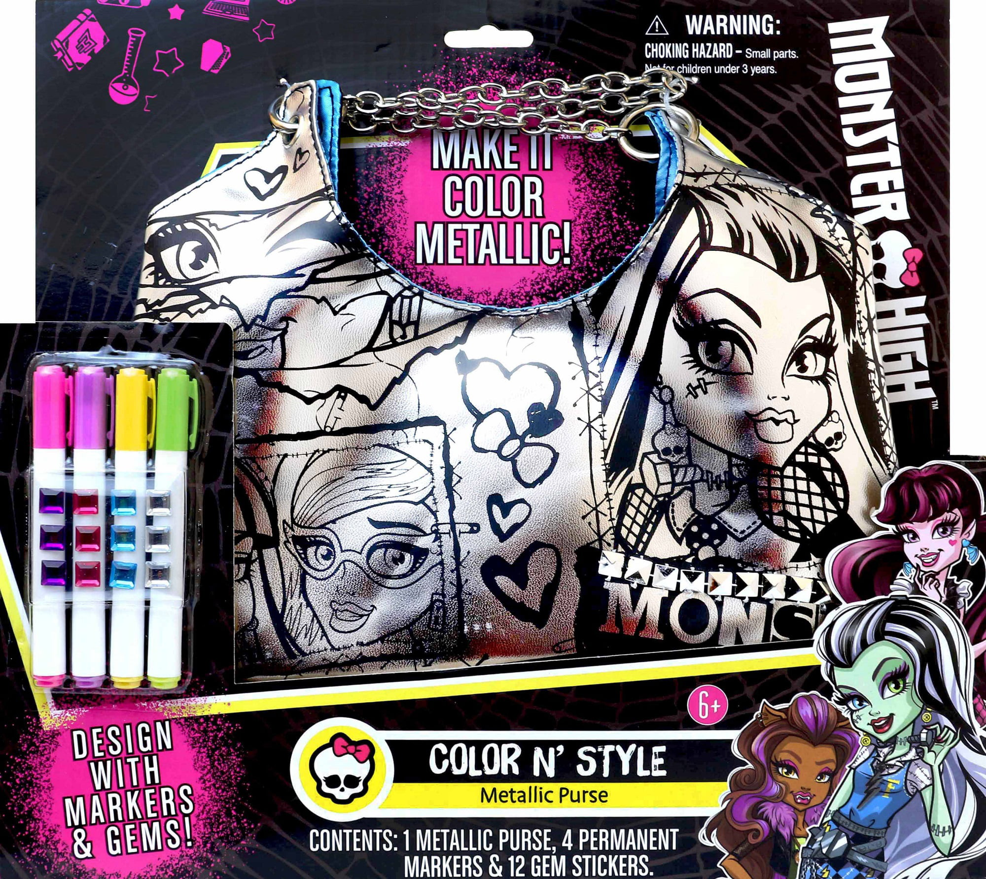 Monster High Color N Style Purse by Tara Toy