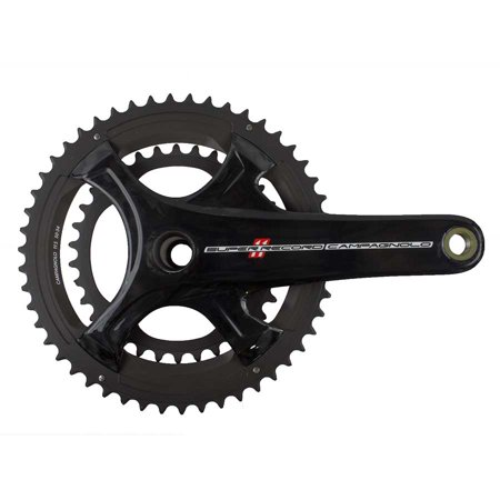 Campagnolo 2016 Super Record Carbon Ultra-Torque 11 Speed Double Compact 34/50 Crankset 172.5mm Campagnolo Record Ultra Torque Carbon