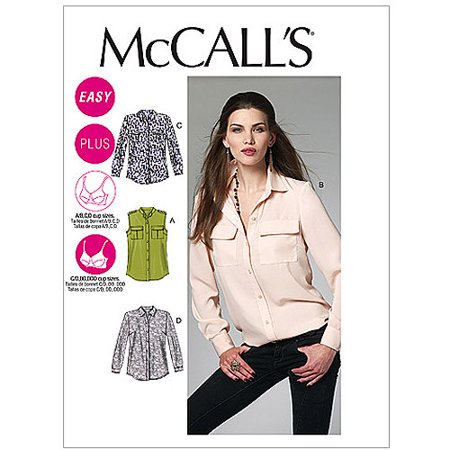 McCall's Pattern Misses' and Women's Shirts, B5 (8, 10, 12, 14, 16)](Mccalls Halloween Craft Patterns)