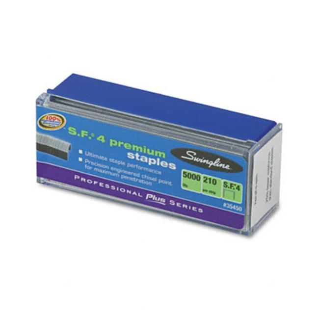 S.F. 4 Premium Chisel Point 210 Count Full Strip Staples  5000/box