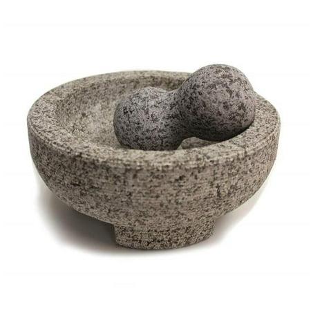 8 in. Health Smart Granite Molcajete Mortar & Pestle