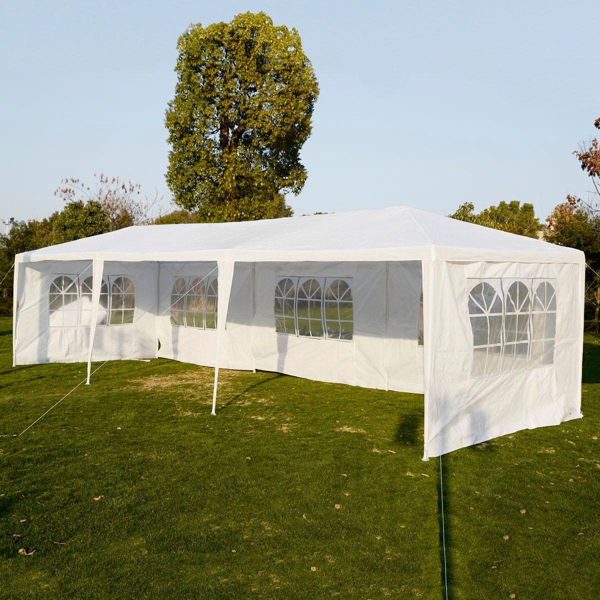 Wedding Party Tent Outdoor 10'x30' Easy Set Gazebo BBQ Ca...