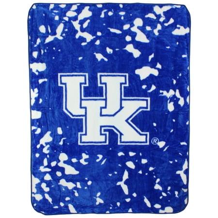"""College Covers NCAA Kentucky Wildcats Throw Blanket, 63"""" x 86"""""""