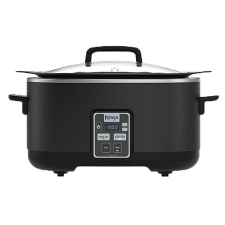 Ninja 2-in-1 6 Quart Stove Top Slow Cooker Cooking System with