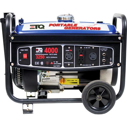 ETQ TG32P12CA 4000W/3250W CARB 7HP Generator