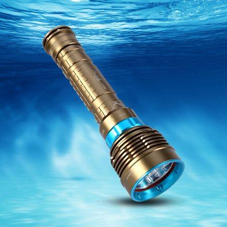 - Diving Flashlight,Submarine Light,Fosa Diving Flashlight Torch Lamp Underwater Waterproof Submarine Light Fishing Handheld Torch