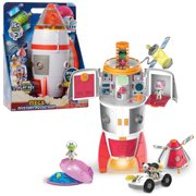 Ryan's World Galaxy Explorers 22-inch Mega Mystery Rocketship with Lights and Sounds, Includes 15+ Surprises, Preschool Ages 3 up by Just Play