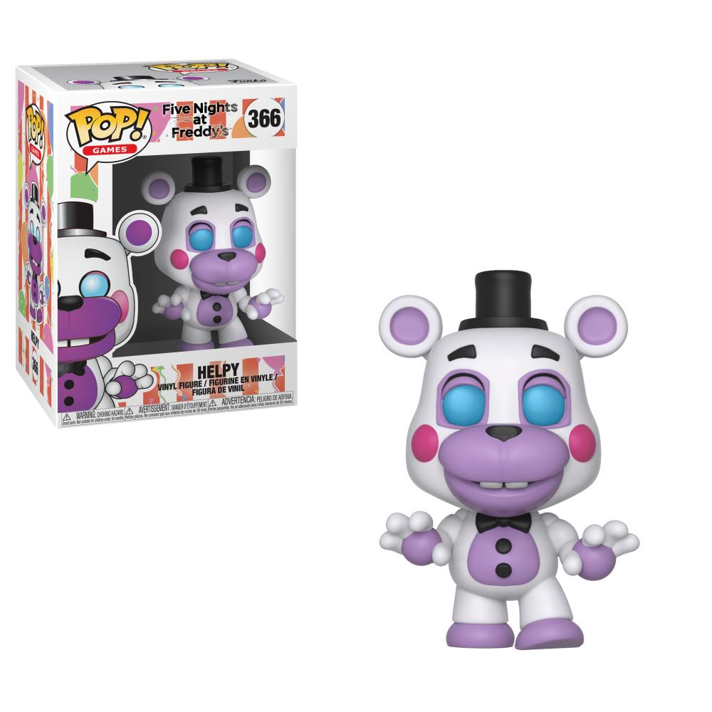 Funko Pop! Games: Five Nights at Freddy's 6 Pizza Sim - Helpy