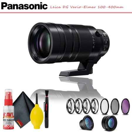 Panasonic Leica DG Vario-Elmar 100-400mm Lens W/ Complete Filter Kit