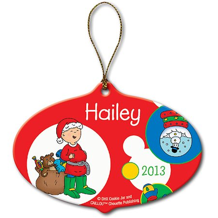Personalized Caillou Santa Christmas - Party City Caillou