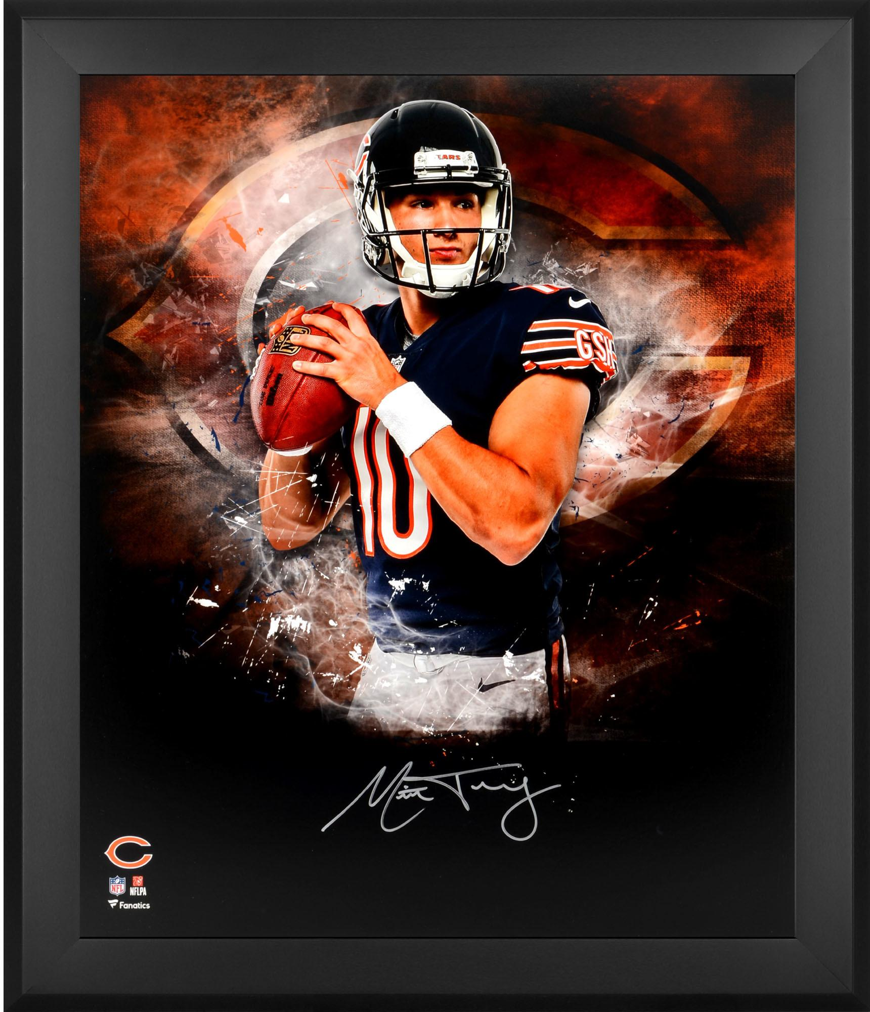 buy popular bee0f fb6fc Mitchell Trubisky Chicago Bears Framed Autographed 20