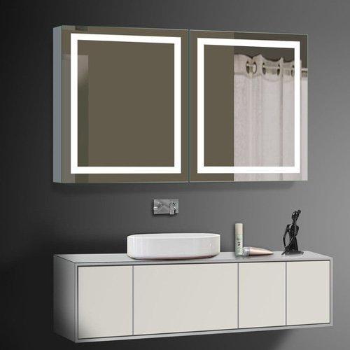 Paris Mirror 2 Door Harmony Cabinet Illuminated LED Bathroom Mirror by