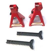 Ktaxon 1 Pair of 2 Ton Portable Auto Car Tire Change Handle Repair Jack Stands