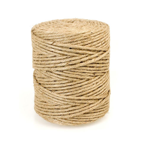 5- Ply Jute Cord: Natural, 648 Feet