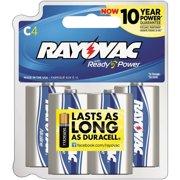 Best C Batteries - Rayovac 814-8RBPF Alkaline Reclosable C Batteries Review