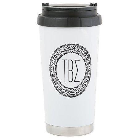Beta Sigma Sorority - CafePress - Tau Beta Sigma Sorority Medallion Mugs - Stainless Steel Travel Mug, Insulated 16 oz. Coffee Tumbler