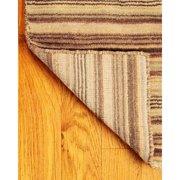 Natural Area Rugs Wool Tabriz Brown/Tan Area Rug