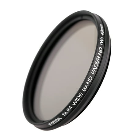 Fotga 49mm Slim Fader Variable ND Filter Adjustable Neutral Density ND2 to