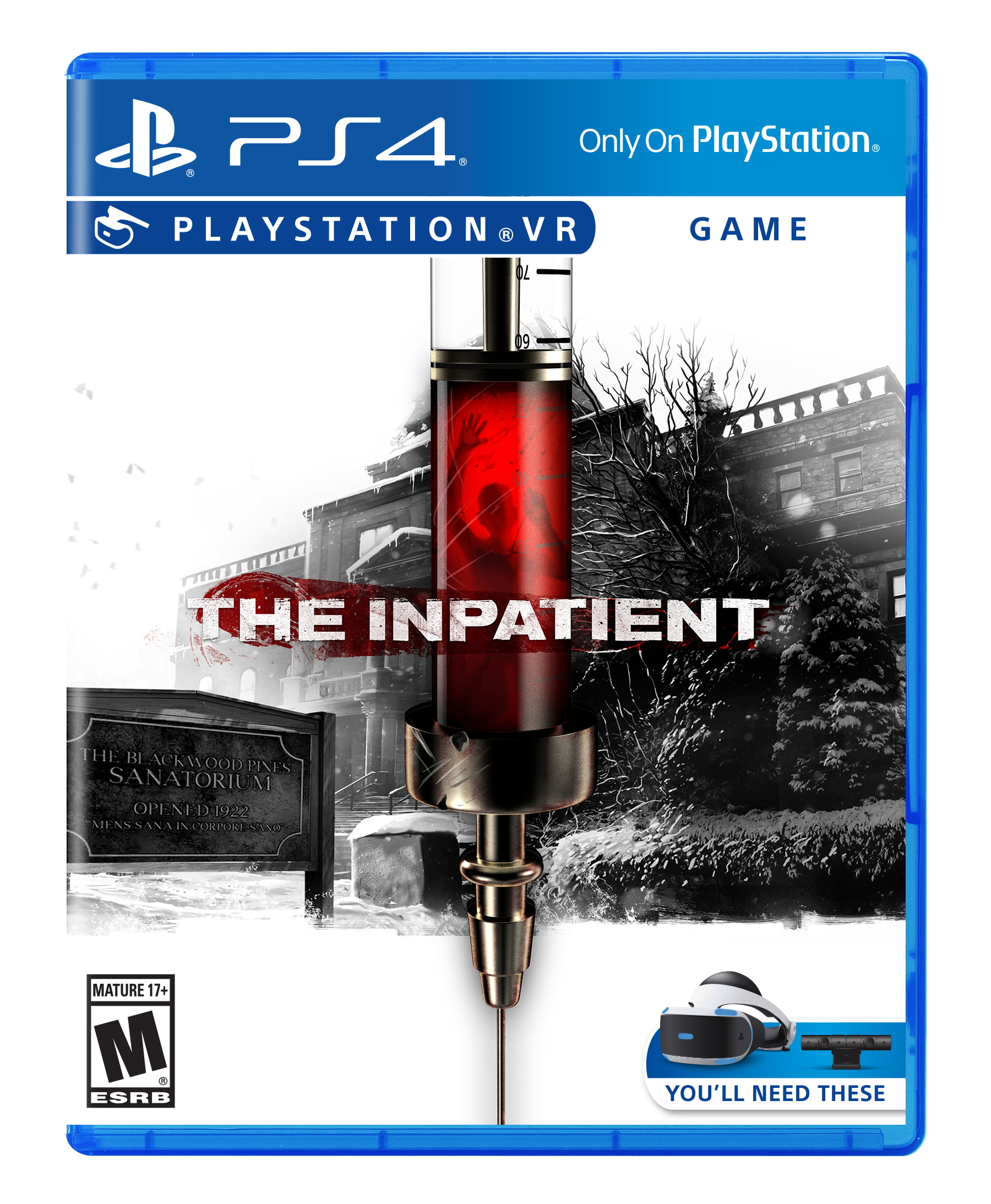 The Inpatient VR, Sony, PlayStation VR, 711719510574