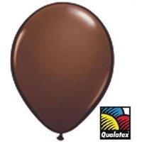 11-inch Qualatex Balloons, Brown , 2PK