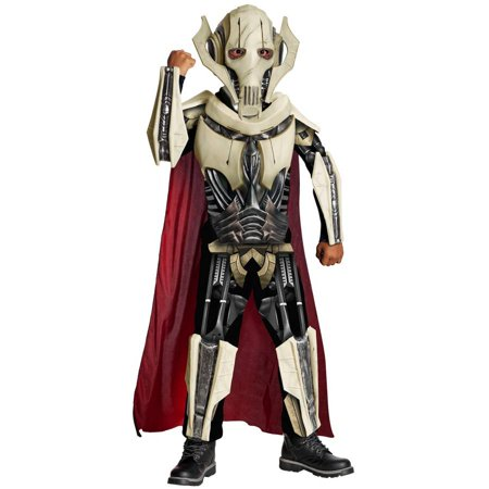 Deluxe Star Wars General Child Halloween Costume - Star Wars General Grievous Halloween Costume