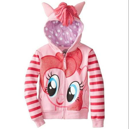 My Little Pony Girls' Pinky Pie Hoodie - My Little Pony Hoodie