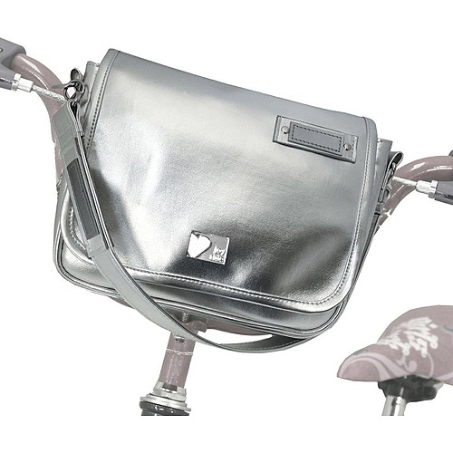 CycleAware Tour de Joy™ Handlebar Mounted Purse- Silver FG