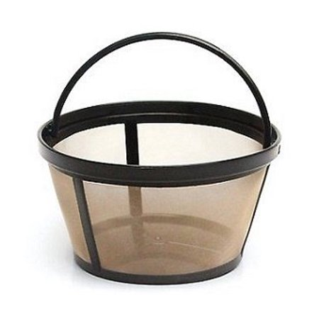 4-Cup Basket Style Permanent Coffee Filter for Mr. Coffee 4 Cup (Mr Coffee Clean Light Wont Go Off)