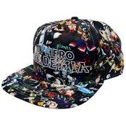 My Hero Academia Sublimated Snapback Cap Apparel