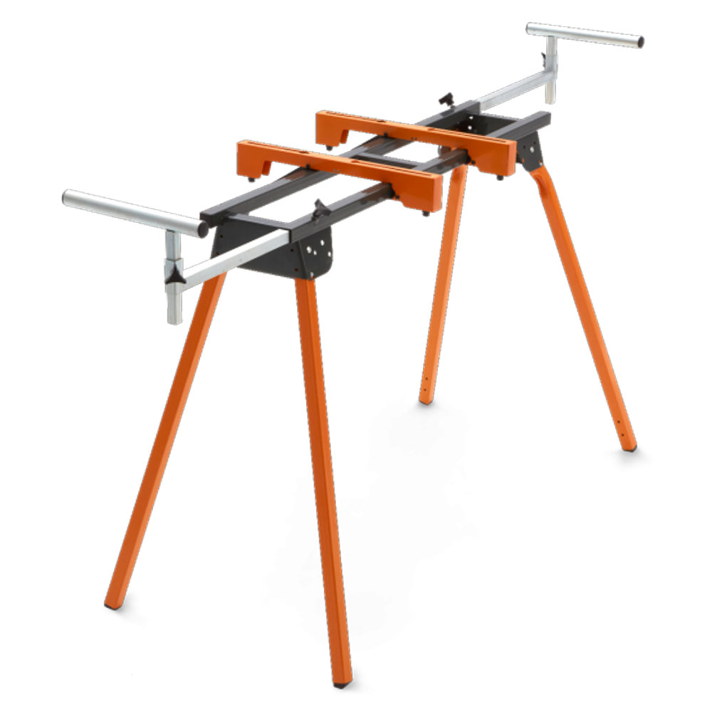 Portamate Portable Folding Heavy Duty Adjustable Steel Miter Saw Stand Table