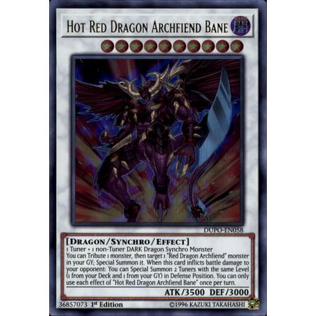 YuGiOh Duel Power Hot Red Dragon Archfiend Bane DUPO-EN058