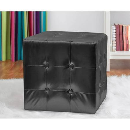 Outstanding Urban Shop 15 X 15 Square Tufted Ottoman Spiritservingveterans Wood Chair Design Ideas Spiritservingveteransorg