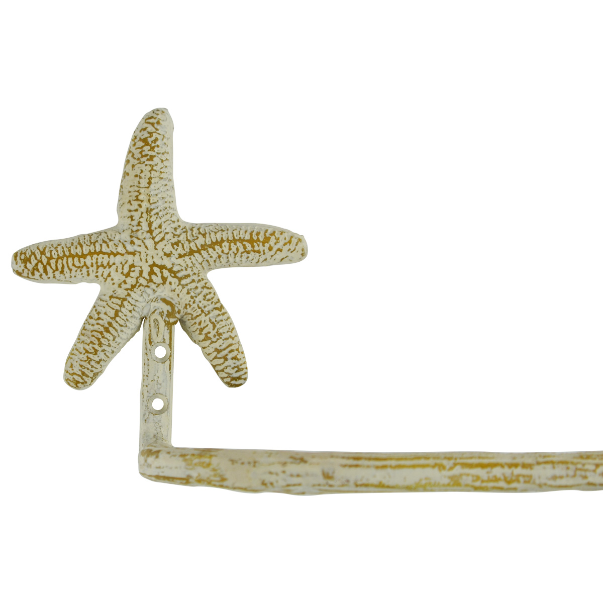 Wall Mount Metal Starfish Toilet Paper TP Roll Holder Nautical ...
