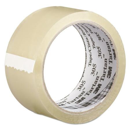 Tartan 305 Box Sealing Tape, 48 mm x 100 m, 3