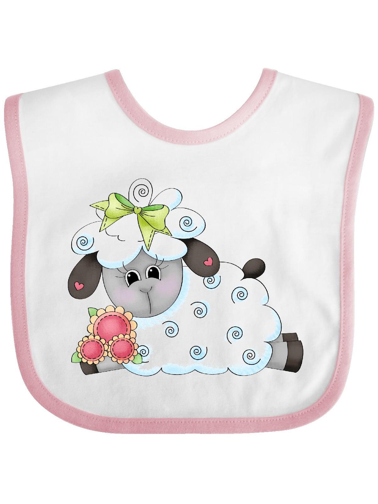 Little Bow Sheep Baby Bib - Walmart.com - Walmart.com