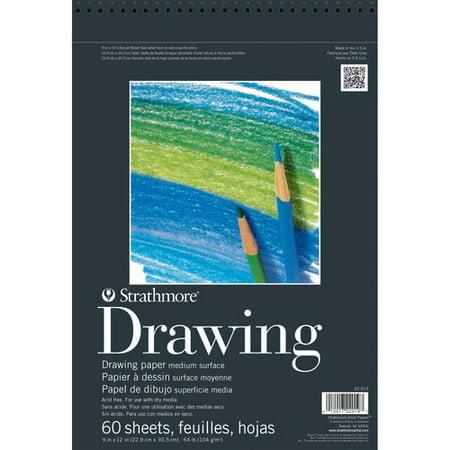 Strathmore 200 Series Sketch Pad, 50 Lbs, Acid-Free, 5.5u0022 x 8.5u0022, 100 Sheets