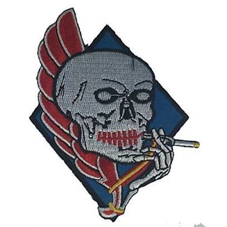USN NAVY ATTACK SQUADRON ATKRON VFA 34 PATCH BLUE BLASTERS (Squadron 4 Patch)