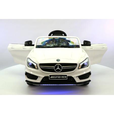 Mercedes CLA45 12V Kids Ride-On Car with R/C Parental Remote |